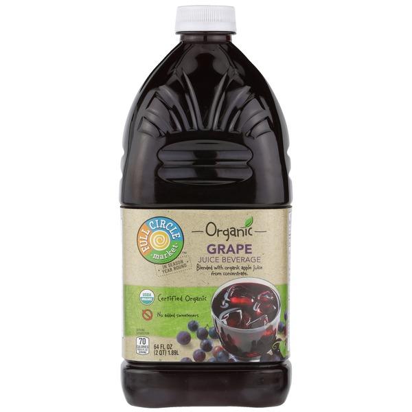 Full Circle Grape Juice Beverage Blend With Organic Apple