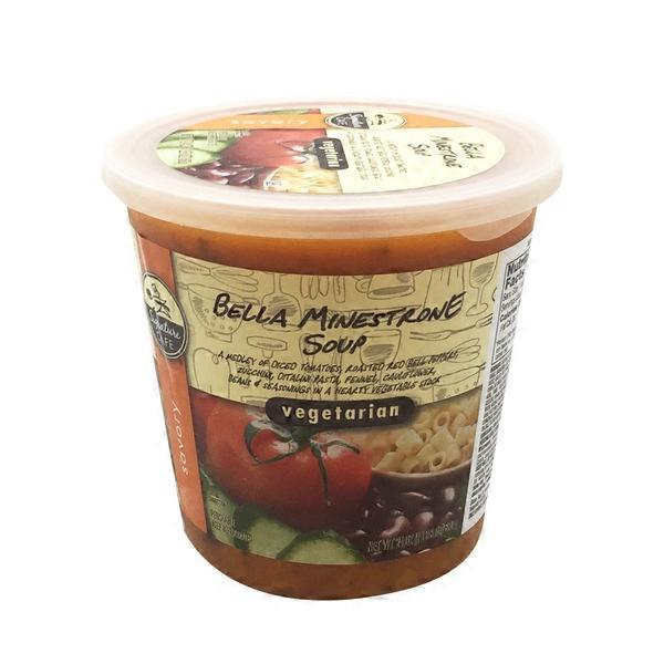 Vons. Signature Cafe Vegetarian Minestrone Soup