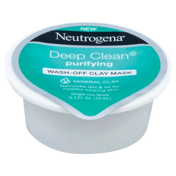 Deep Clean Purifying Clay Mask & Cleanser by Neutrogena #17