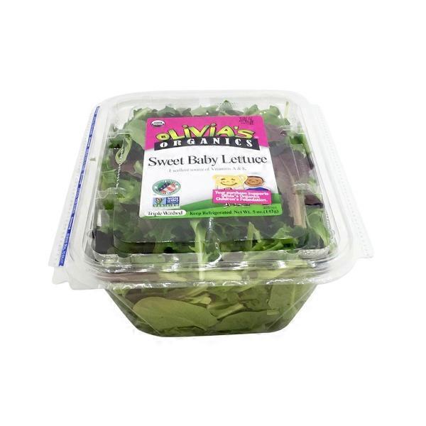 Olivia's Organic Sweet Baby Lettuce