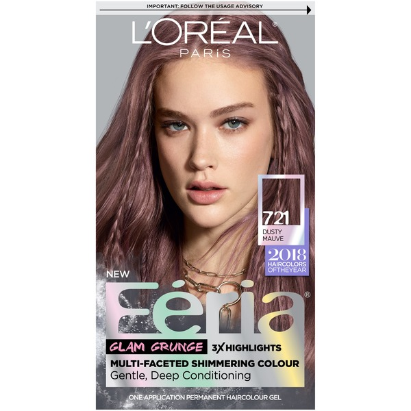 Feria 721 Dusty Mauve Hair Color From Target Instacart