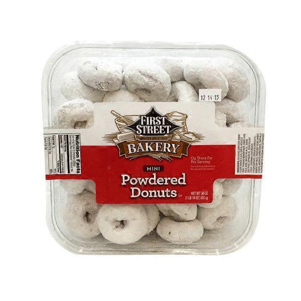First Street Mini Powdered Donuts (30 oz) from Smart & Final