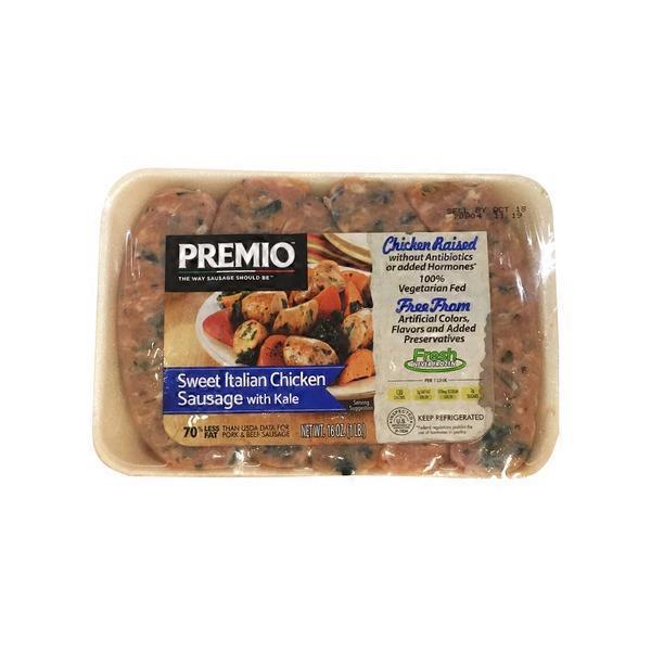 recipe: premio chicken sausage with kale [6]