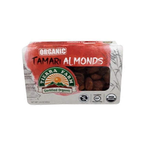 Tierra Farm Organic Roasted Tamari Almonds (1 6 oz) from