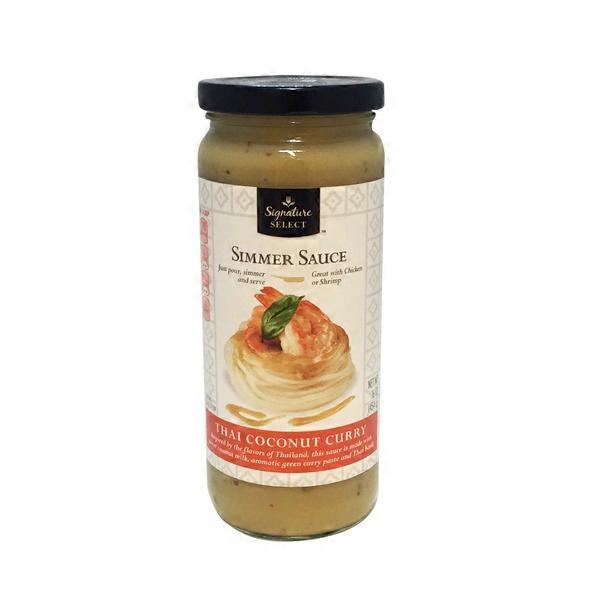 Signature Select Thai Coconut Curry Simmer Sauce (16 oz) from Safeway - Instacart