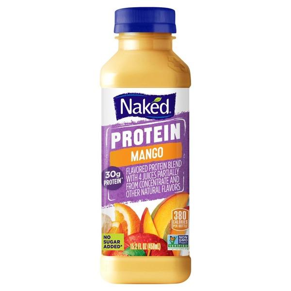 Naked No Sugar Added Protein Juice Smoothie (15.2 fl oz