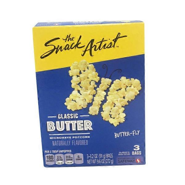 how to add butter to microwave popcorn