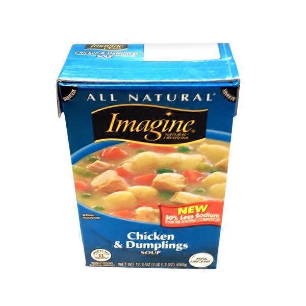 Imagine Foods Chicken Dumplings Soup From Whole Foods Market