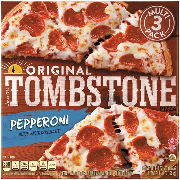 Tombstone Original Pepperoni Pizza 206 Oz From Kroger Instacart