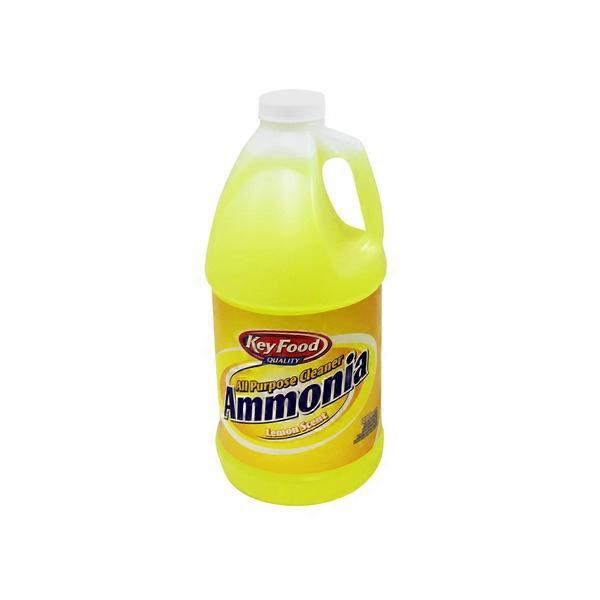 . Key Food All Purpose Cleaner Ammonia Lemon Scent  64 fl oz  from