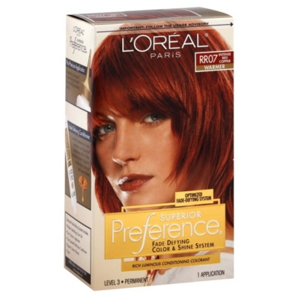 Superior Preference Warmer Rr07 Intense Red Copper Hair Color Each
