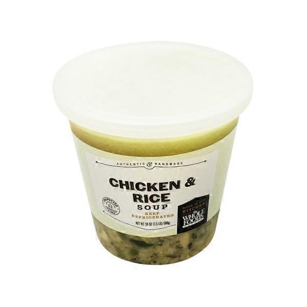 Naples Kitchen Chicken Rice Soup 24 Oz From Whole Foods Market