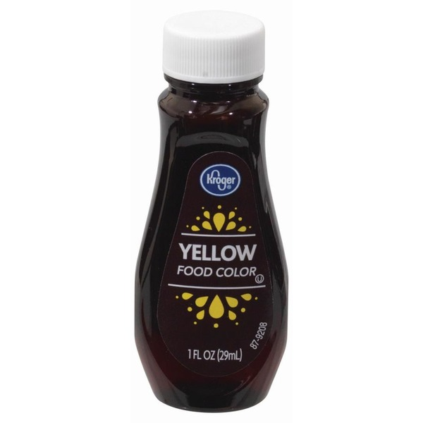 Kroger Yellow Food Coloring (1 fl oz) from Kroger - Instacart