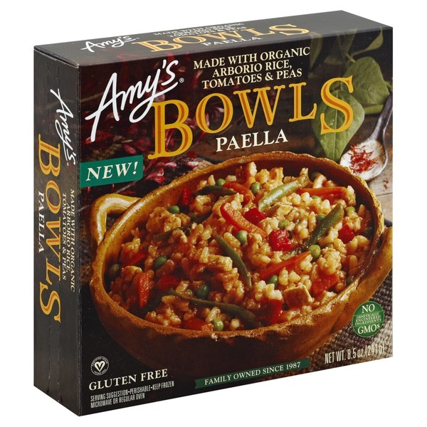Amy's Paella Bowls