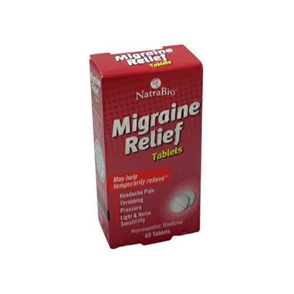 NatraBio Migraine Relief