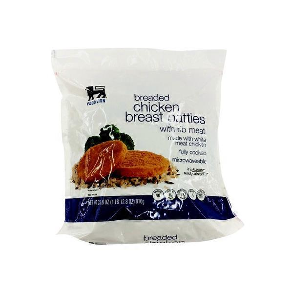 Food Lion Breaded Chicken Patties 28 Oz From Food Lion Instacart