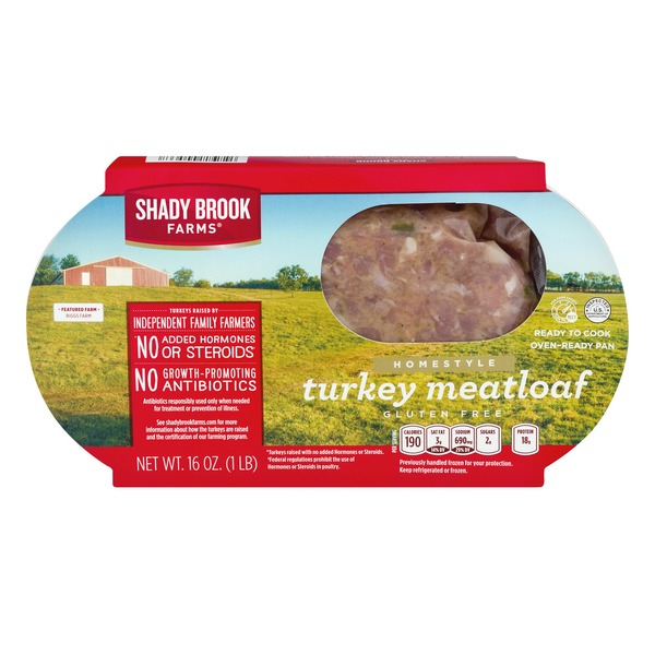 Shady Brook Farms Turkey Meatloaf Homestyle 160 Oz From Kroger