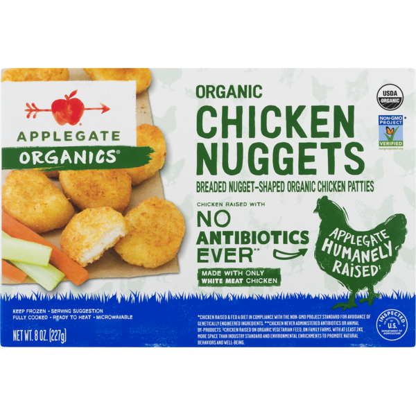 Applegate Chicken Nuggets 8 Oz From Whole Foods Market Instacart