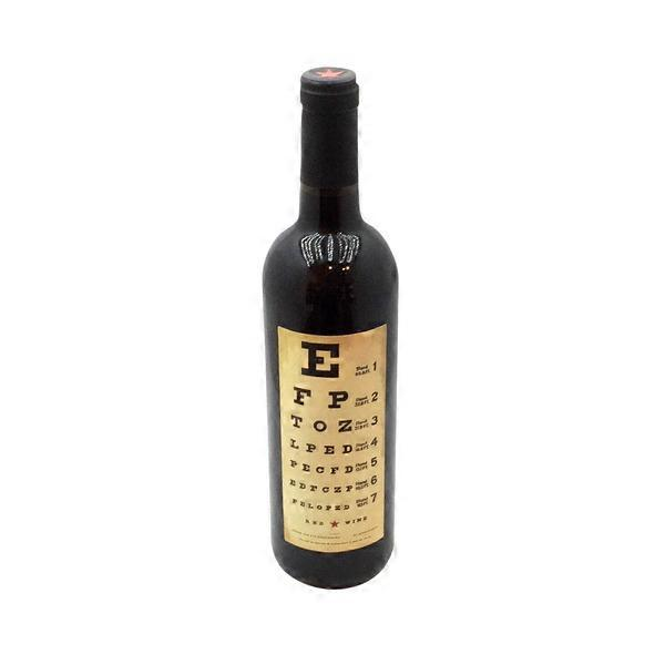 Eye Chart Wines Red Wine From Fred Meyer Instacart