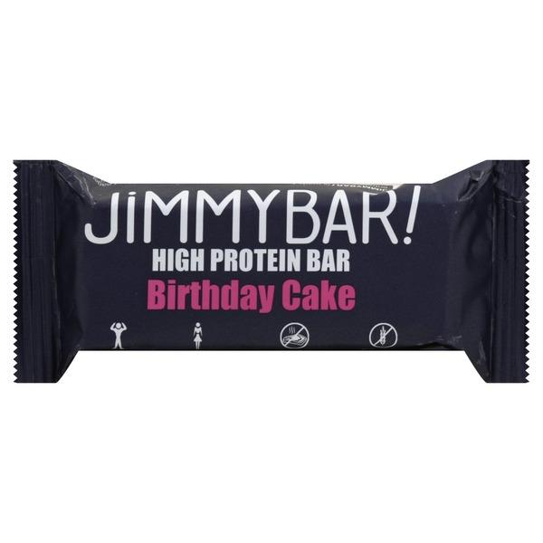 Jimmybar High Protein Bar Birthday Cake