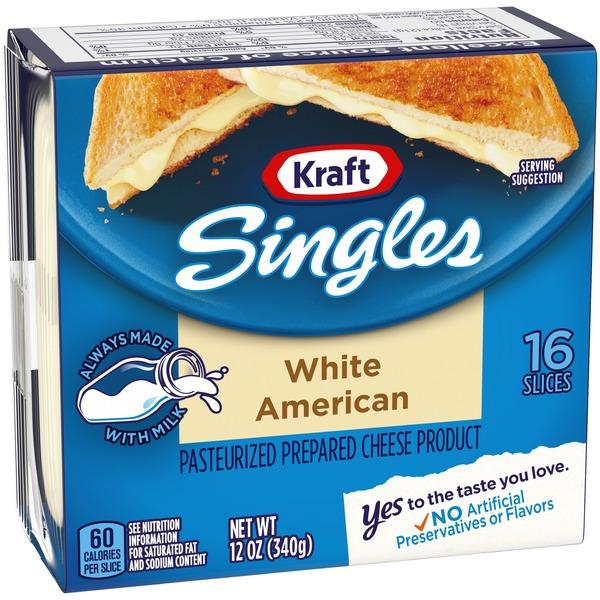 Kraft Singles White American Cheese Slices 12 Oz From Market Basket Instacart