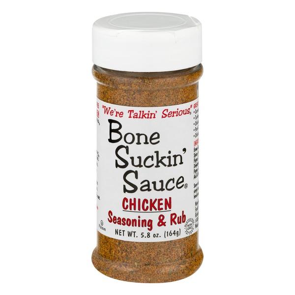 Bone Suckin Sauce Chicken Seasoning Rub 58 Oz From Whole Foods