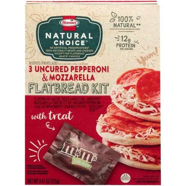 Hormel 3 Uncured Pepperoni & Mozzarella Flatbread Kit (4 41