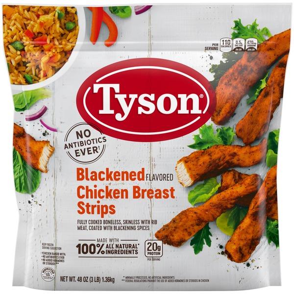 Tyson Grilled & Ready® Blackened Flavor Unbreaded Chicken