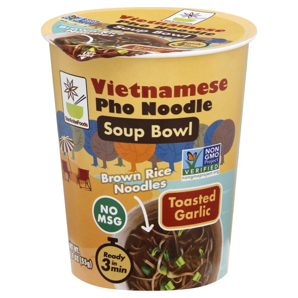 Star Anise Foods Pho Noodle, Vietnamese, Toasted Garlic