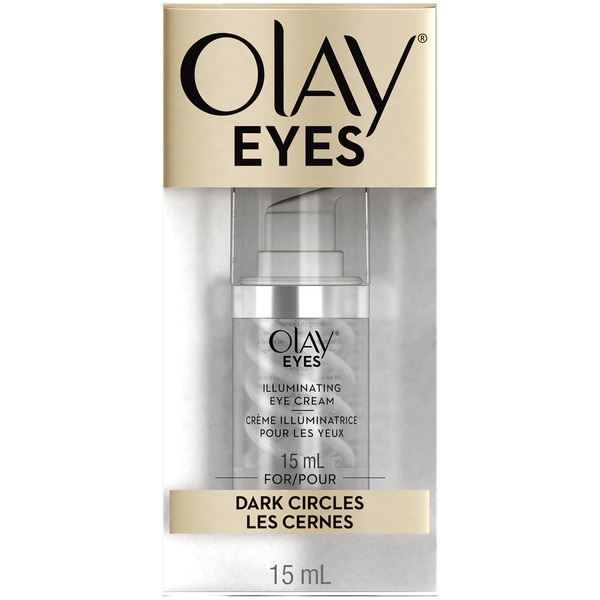 Olay Eyes Illuminating Eye Cream for dark circles under eyes, 15 mL