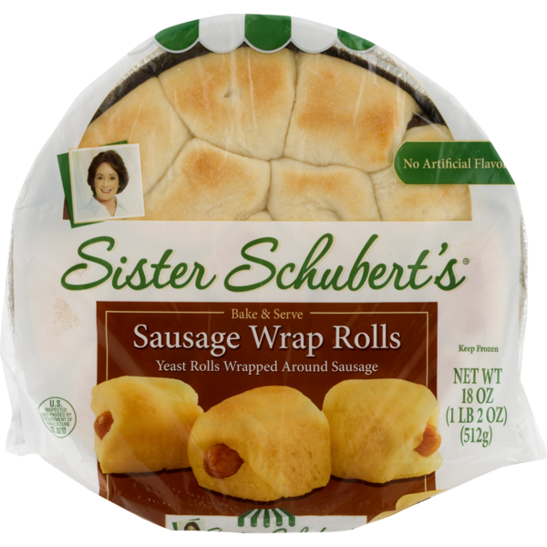 Sister Schubert S Sausage Wrap Rolls 18 Oz Instacart