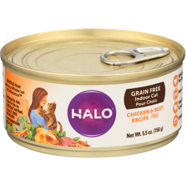 Halo grain free spots pate ground chicken and beef recipe cat food halo grain free spots pate ground chicken and beef recipe cat food forumfinder Image collections