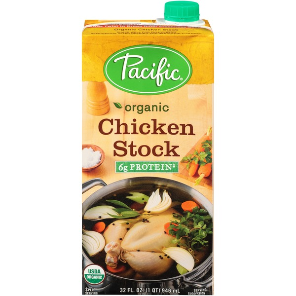 Pacific Organic Pacific Organic Chicken Stock From Whole Foods