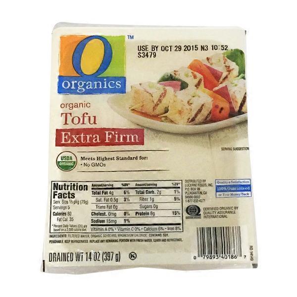 O Organics Extra Firm Tofu 14 Oz Instacart