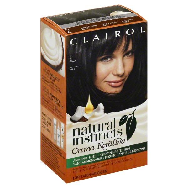 Clairol Natural Instincts Non Permanent Hair Color Crema Keratina