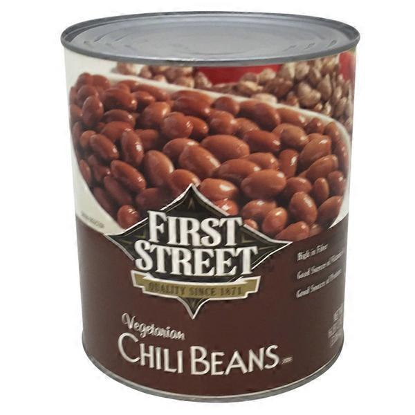 First Street Vegetarian Chili Beans 108 Oz From Smart