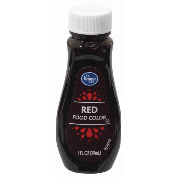 Kroger Red Food Coloring (1 fl oz) from Kroger - Instacart