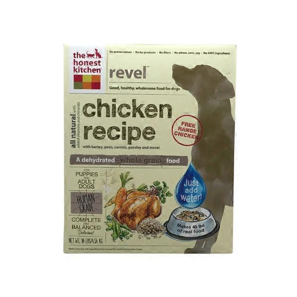 the honest kitchen revel whole grain chicken dog food - Honest Kitchen Cat Food