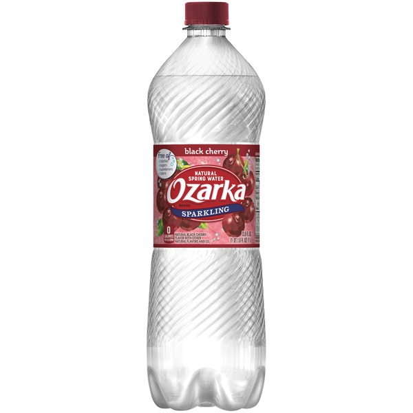 e044b87ee8 Ozarka Black Cherry Sparkling Natural Spring Water from Randalls ...