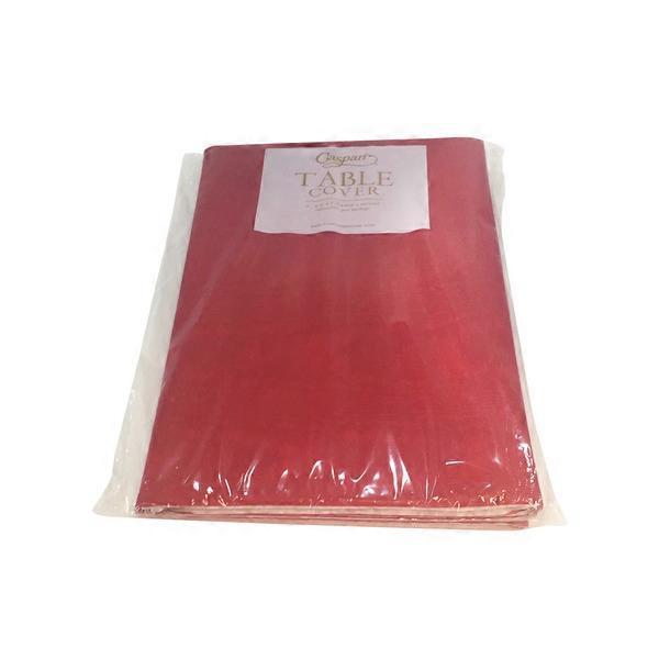 Etonnant Caspari Tablecover Moire Red
