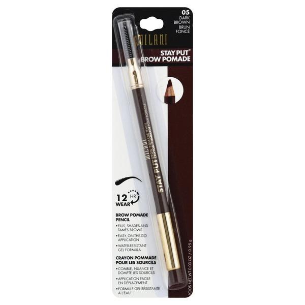 Milani Brow Pomade Pencil Dark Brown 05 003 Oz From Kroger
