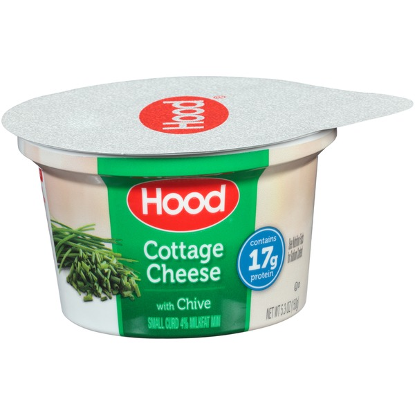 Exceptional Hood Small Curd With Chive Cottage Cheese