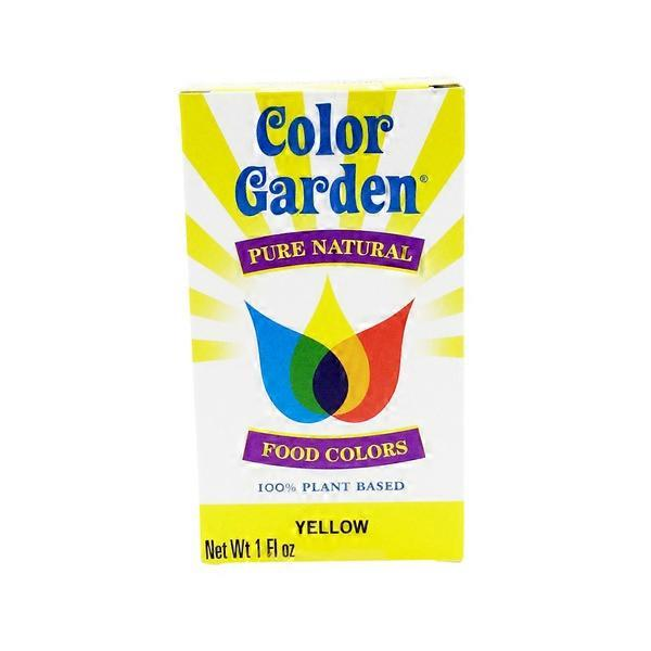 Color Garden Natural Yellow Food Coloring (1 oz) from Natural ...