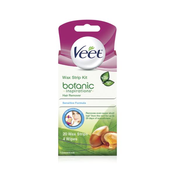 Veet Body Bikini And Face Hair Remover Wax Kit 20 Ct Instacart