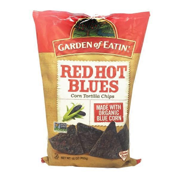 Garden of Eatin Tortilla Chips Corn Red Hot Blues from Smart