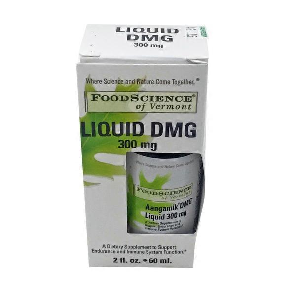Food Science of Vermont Aangamik DMG Liquid 300 mg Drops