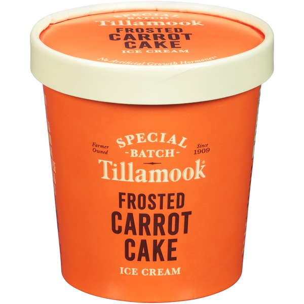 Tillamook Special Batch Frosted Carrot Cake Ice Cream From QFC