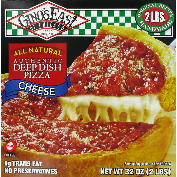Ginos East Of Chicago Authentic Deep Dish Pizza Cheese From Kroger