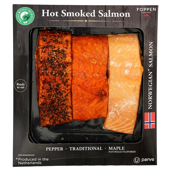 Foppen Hot Smoked Salmon (per lb) from Costco - Instacart