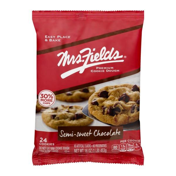 Mrs. Field's Premium Cookie Dough Semi-Sweet Chocolate ...